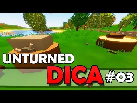 Unturned Dica #03 - Como Esconder e Proteger Os Seus Itens No Servidor