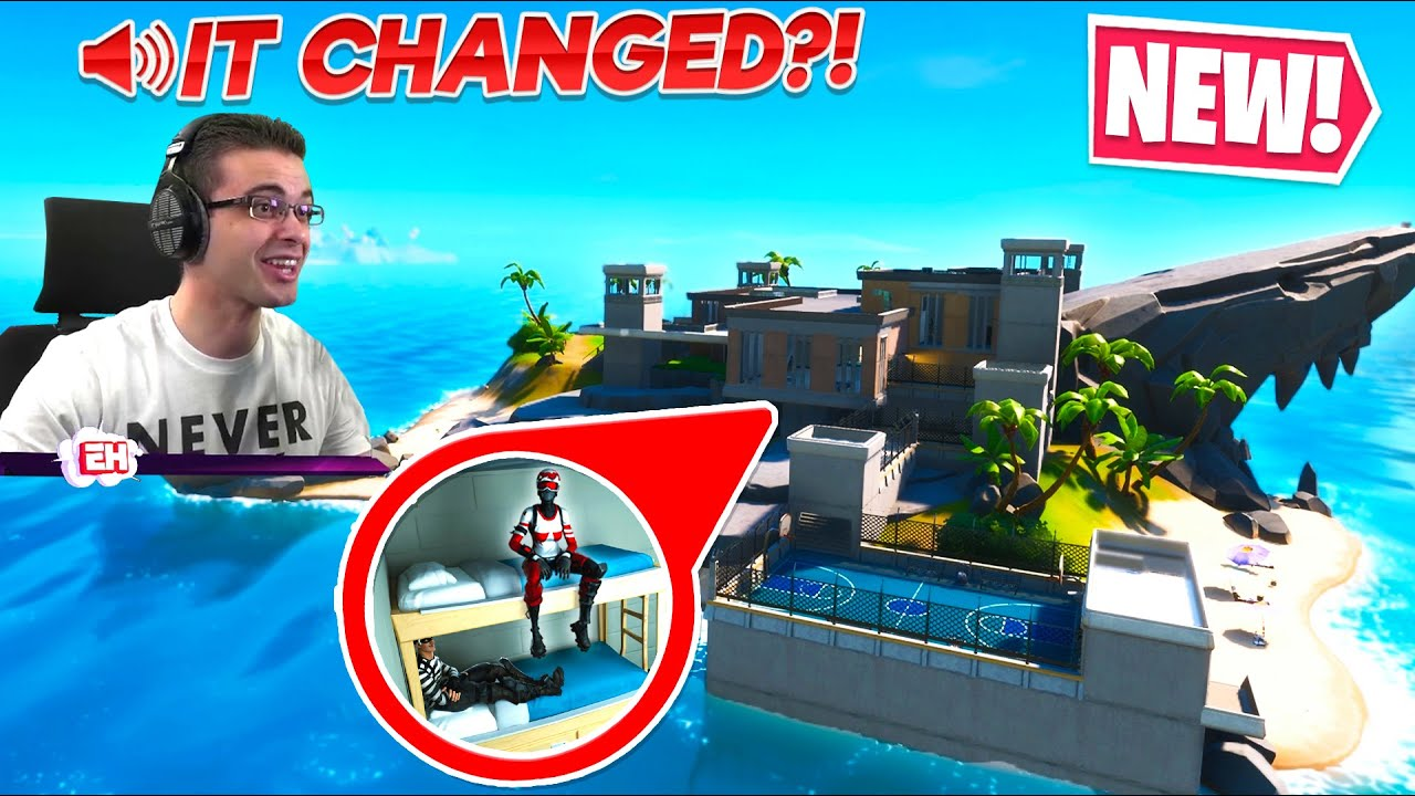 Nick Eh 30 reacts to NEW secret MAP CHANGE in Fortnite! thumbnail