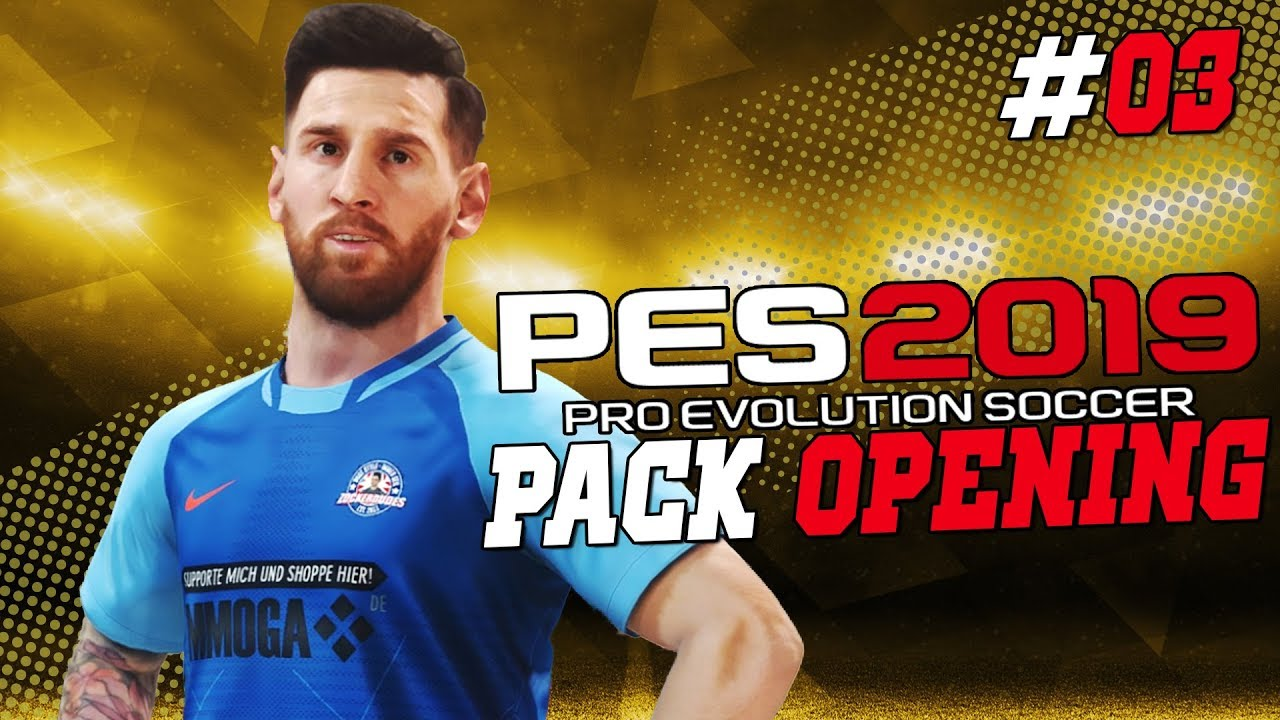 Pes 2019 Myclub Pack Opening 03 97er Messi Im Pack Youtube