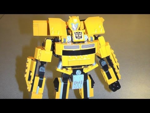 TRANSFORMERS KRE- O BUMBLEBEE ROBOT MODE TOY REVIEW - YouTube