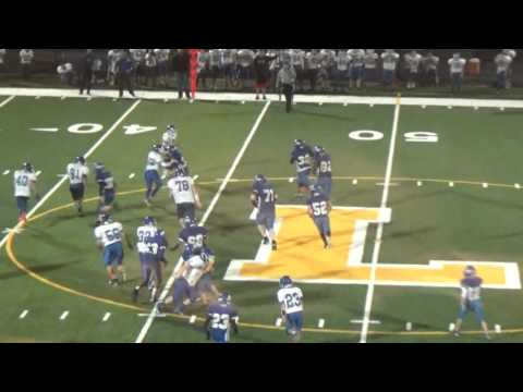 Logan Middle TD run By David Early after cutback