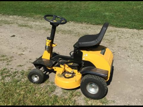 Recharge Electric Riding Mower Review