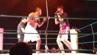 クランチ等で有名な小林隆選手 2013年5/19 拳祭 横浜ベイ メインゲーム.