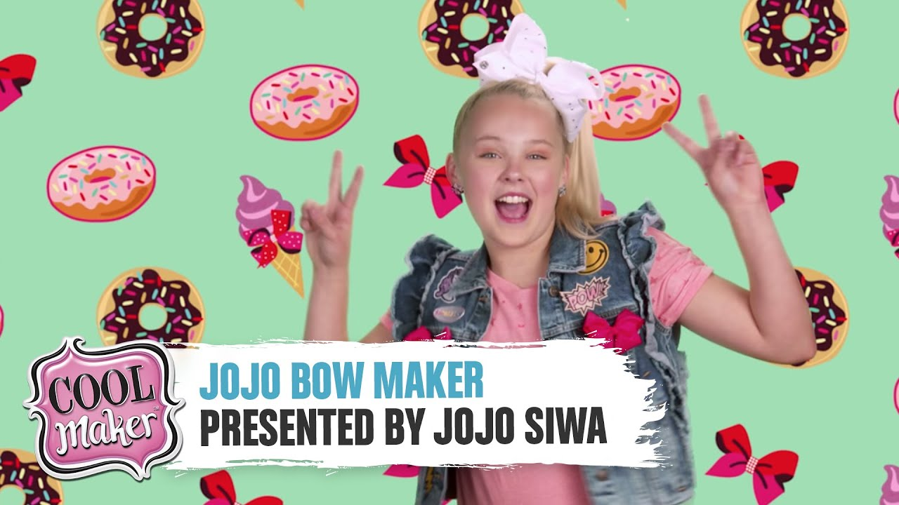 Cool Maker JoJo Siwa Presents The JoJo Bow Maker YouTube