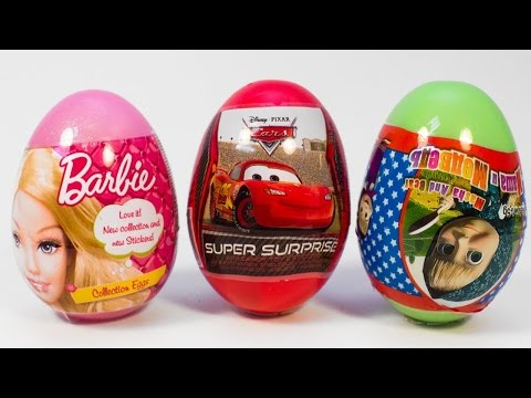 Surprise Eggs| Kinder Surprise Eggs | Peppa Pig | Play Doh Cans| My Little Pony Egg Sopkins