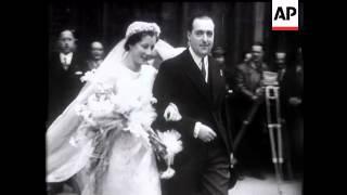 Ex-King Alfonso's Nephew Weds.