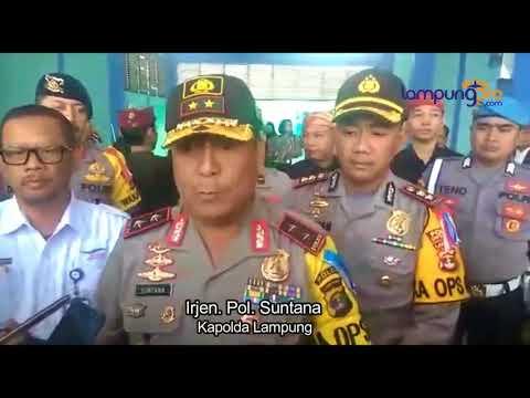 Kapolda Lampung: Polda Jamin Beri Rasa Aman Pemudik Ke Lampung
