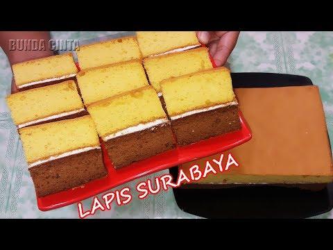 Resep Lapis Surabaya Lembut Dan Sederhana