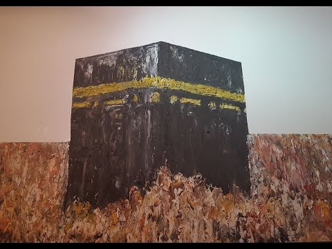 Paint The Kaaba No Brushes Youtube