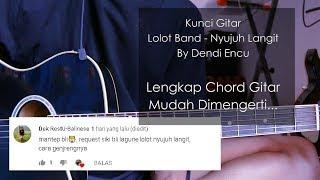 kunci gitar Lolot Band - Nyujuh Langit