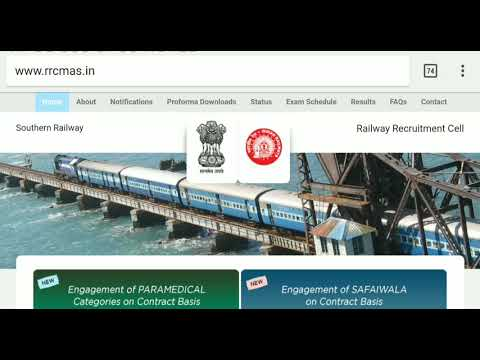 SOUTHERN RAILWAY RECRUITMENT 2018 |SALARY(29,390)|ELIGIBILITY - 10 PASS ONLY