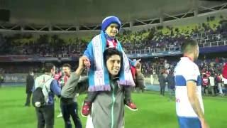 Así vivió Miguelito la final de la Supercopa y el título de Católica
