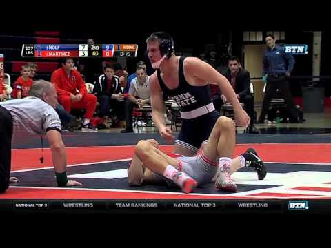 Jason Nolf Takes Down No. 1 Isaiah Martinez