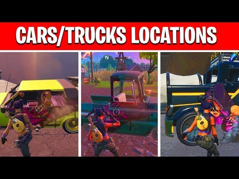 Spray Cars Or Trucks In Different Named Locations - Week 2 Season 10 Spray & Pray Mission