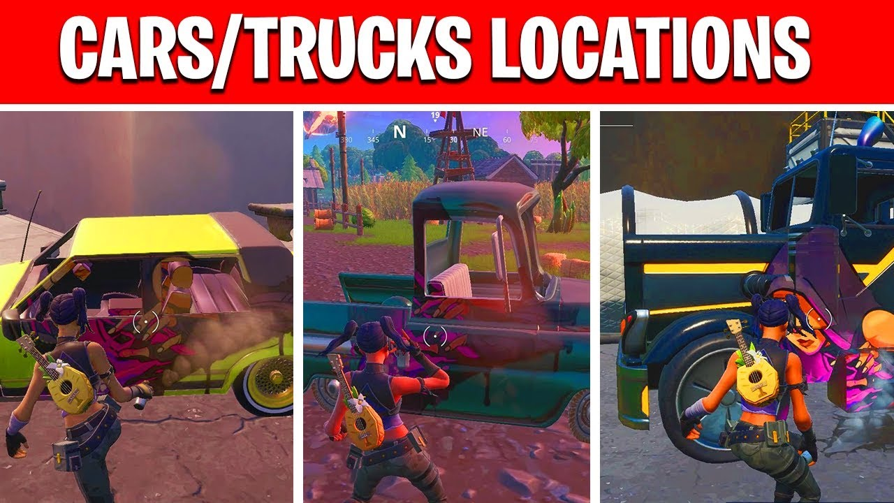 Spray Cars Or Trucks In Different Named Locations Week 2 Season 10 Spray Pray Mission Youtube