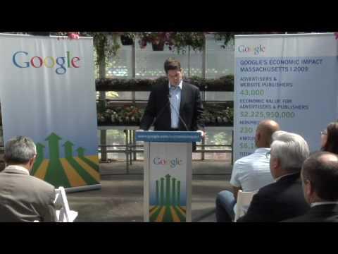 Google's Economic Impact - Massachusetts 5/25/10