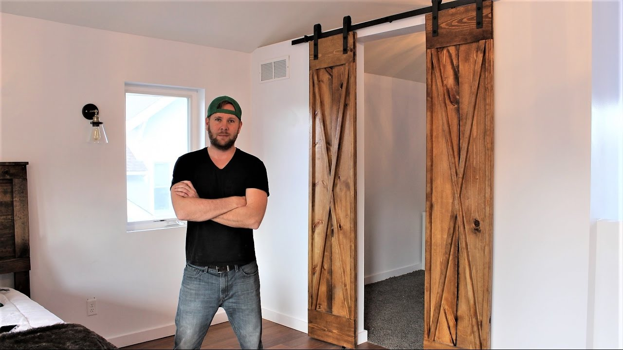 The 60 Double Barn Door Easy Diy Project Youtube