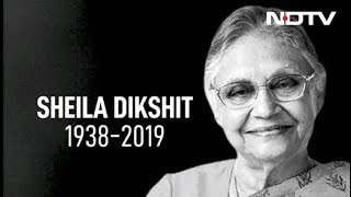 Sheila Dikshit, Chief Minister For 15 Years, Known For Transforming Delhi