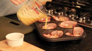 How To Make: Ham And Cheese Egg Cups - Cabot Recipe