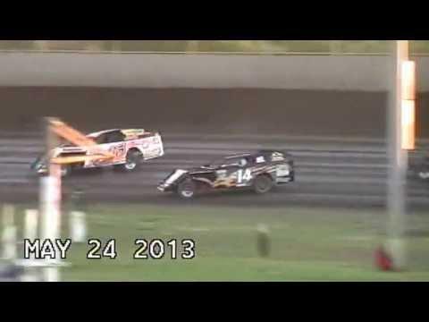 Kevin Graf Flips Modified Tri City Speedway Granite