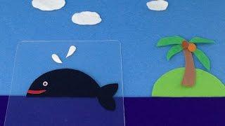 【夏休みの自由研究 プラバン工作】変わり絵カードは、重ねて遊ぶユニー...