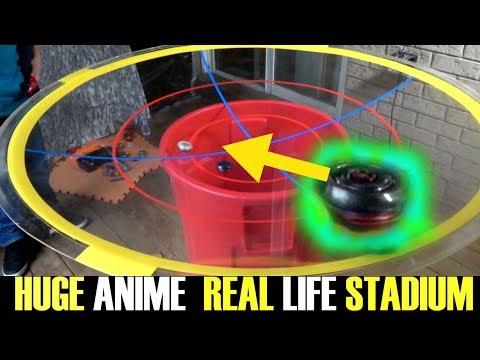 ANIME REAL LIFE BEYSTADIUM! B-98 GOD SET ROYALE EPISODE 6