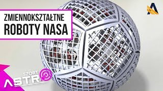 Zmiennokształtne roboty na Saturnie - AstroSzort