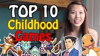 Top 10 Childhood Video Games | Melinda Tse
