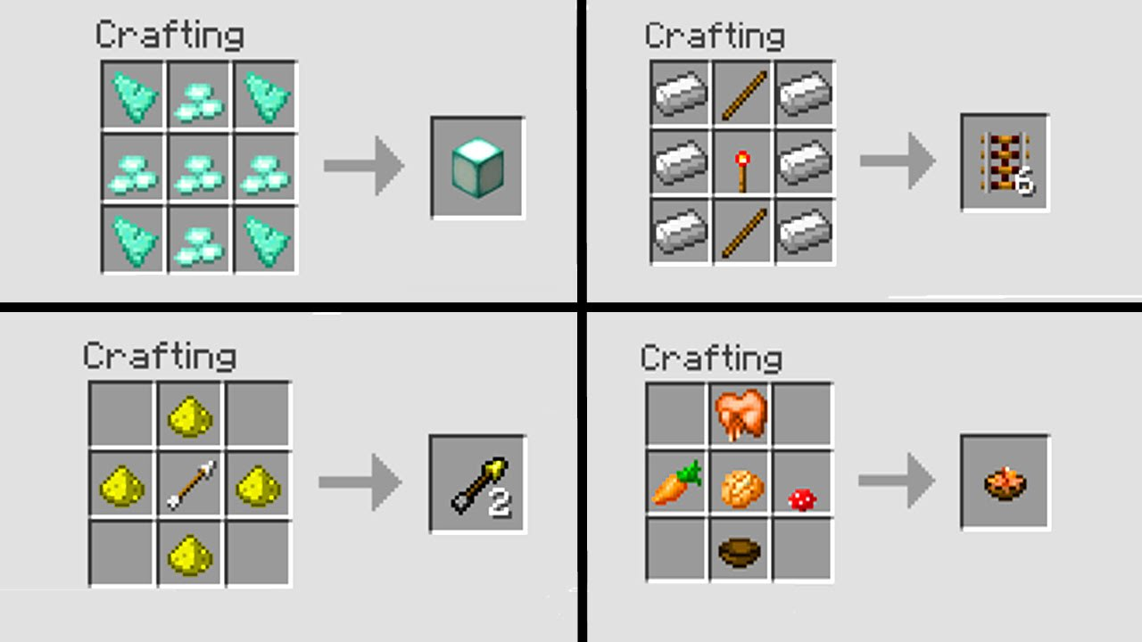 Minecraft  Crafting Mod