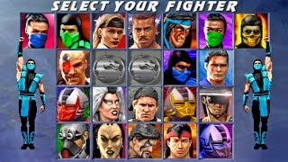 Ultimate Mortal Kombat 3 - CLASSIC SUB-ZERO (PS2)【TAS】