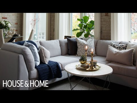 Interior Design – A Small And Bright Open-Concept Condo
