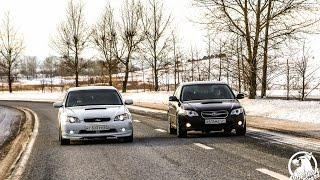 Subaru Legacy! Левый или Правый руль ? какая лучше?
