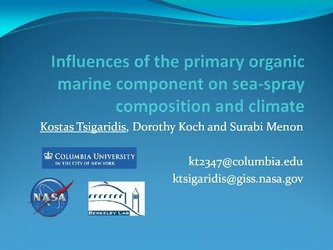 Seminar: Kostas Tsigaridis, 2011-01-19