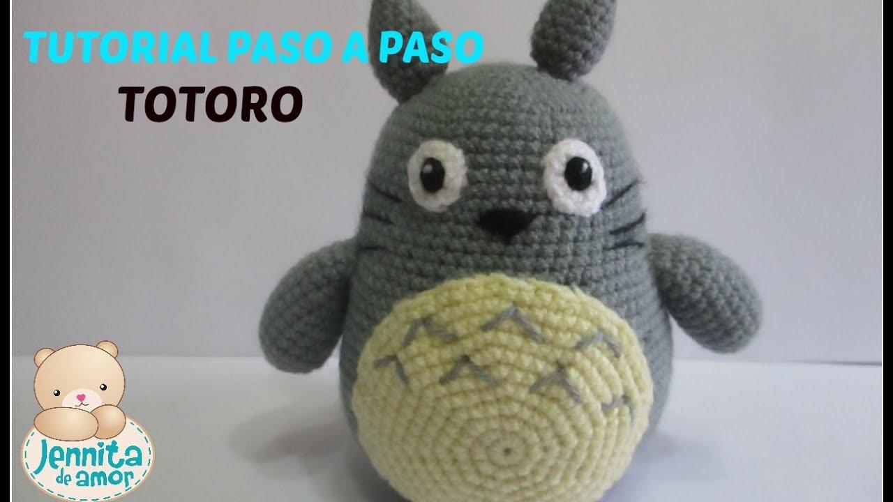 Totoro Amigurumi Free Crochet Pattern | 720x1280
