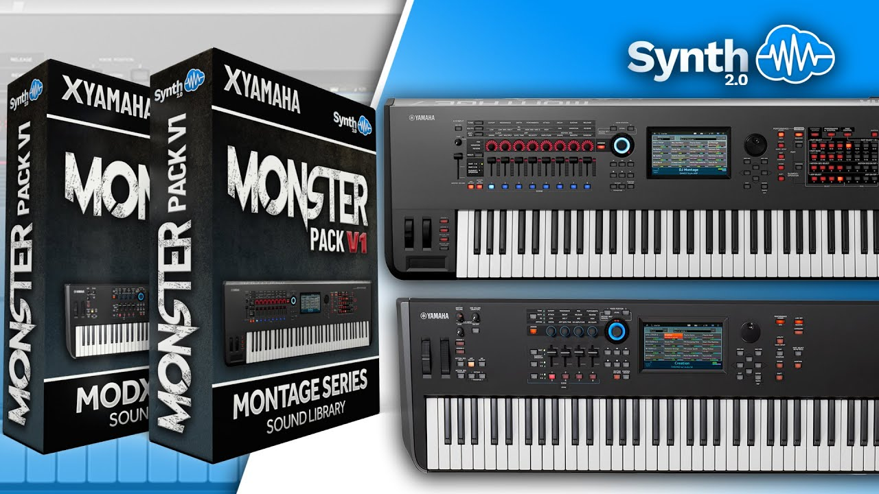 MODX : LDX123 - Monster Pack V 1 - Yamaha MODX