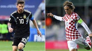 VM-studio: Argentina - Kroatia