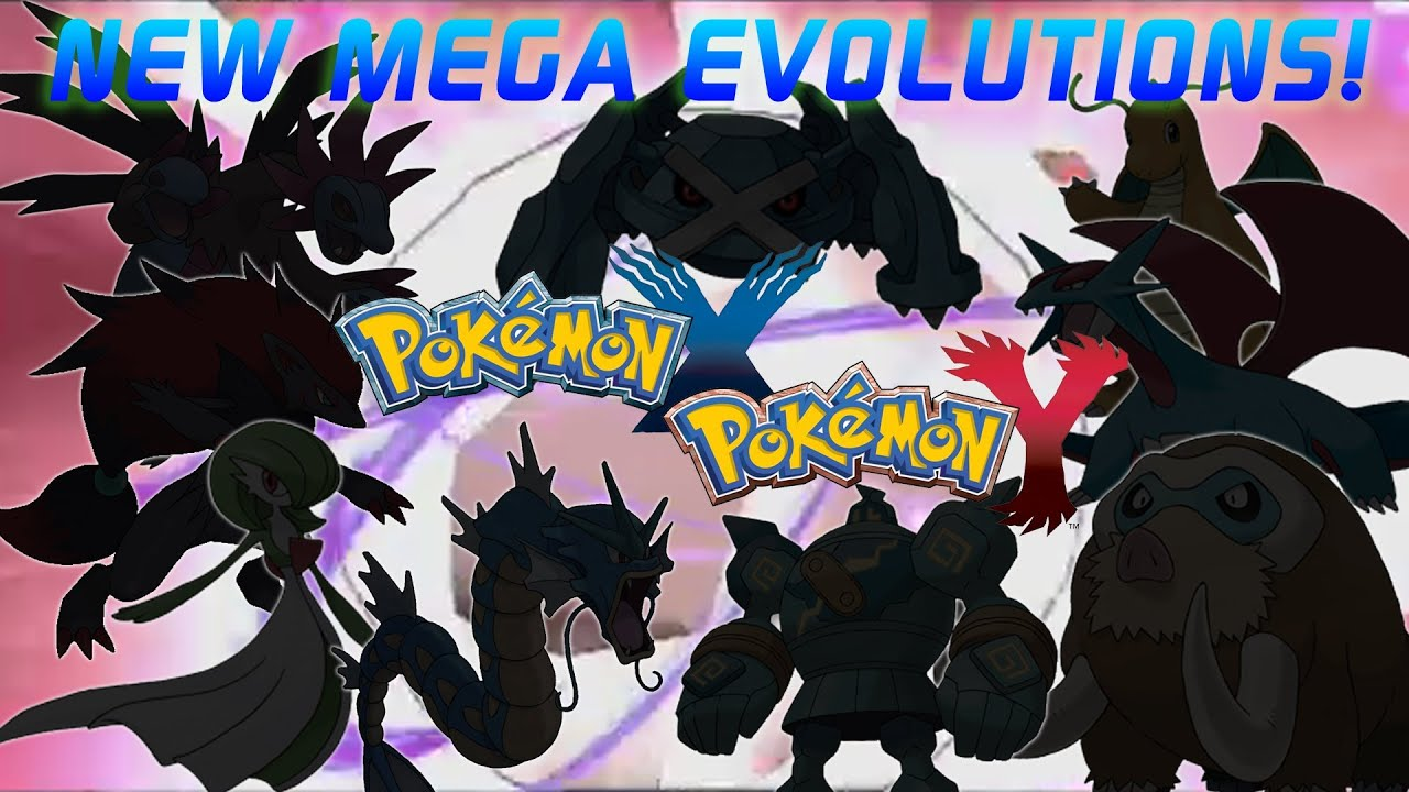 Pokemon x y or as z new info hidden mega evolutions revealed youtube - Pokemon version rubis evolution ...