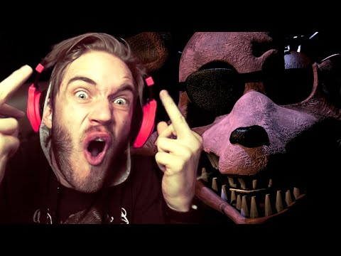 SWEET EUPHORIA, I FINISHED IT! // Five Nights At Freddy's (Night 6) END