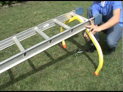 Installing The Corner Buddy Ladder Standoff Youtube