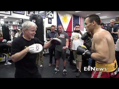 Robert Garcia On Julio Cesar Chavez Jr vs Danny Jacobs  EsNews Boxing