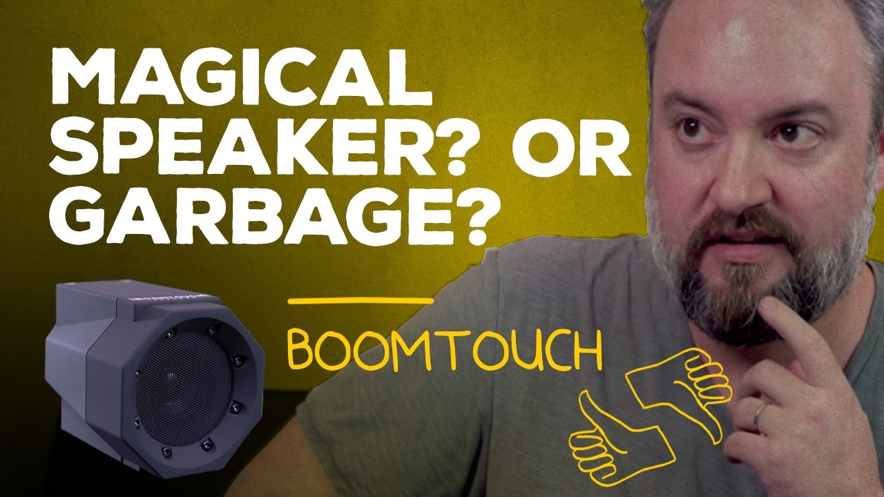 The BoomTouch speaker is surprisingly  GOOD?!?!?!