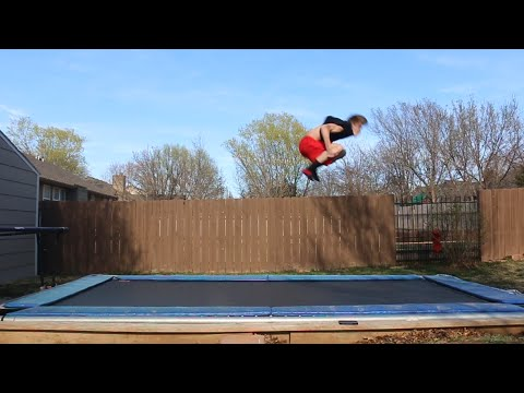 How To Spin Faster On A Trampoline! (Tutorials Week #1)