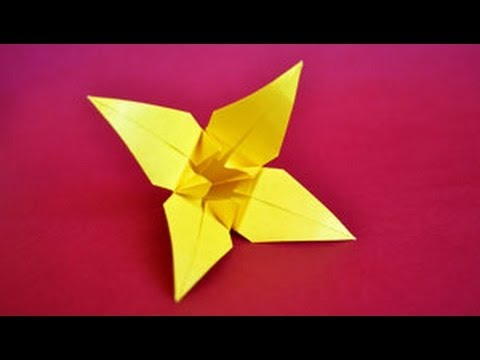 How to Make an Origami Lily Flower | Origami lily, Origami lily ... | 360x480