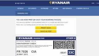 Онлайн-оформление чекина Ryanair | Самостоятельно в Тоскану #1.9