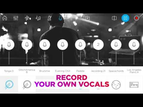 Music Maker JAM | Voice Recording feature