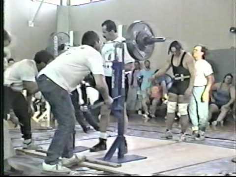 1993 USPF Washington State Open Powerlifting Championships