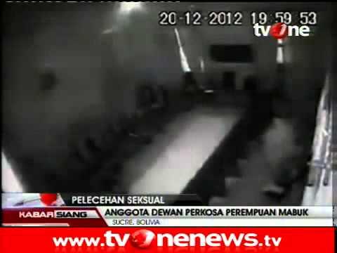 Rekaman CCTV Anggota Dewan Perkosa Perempuan