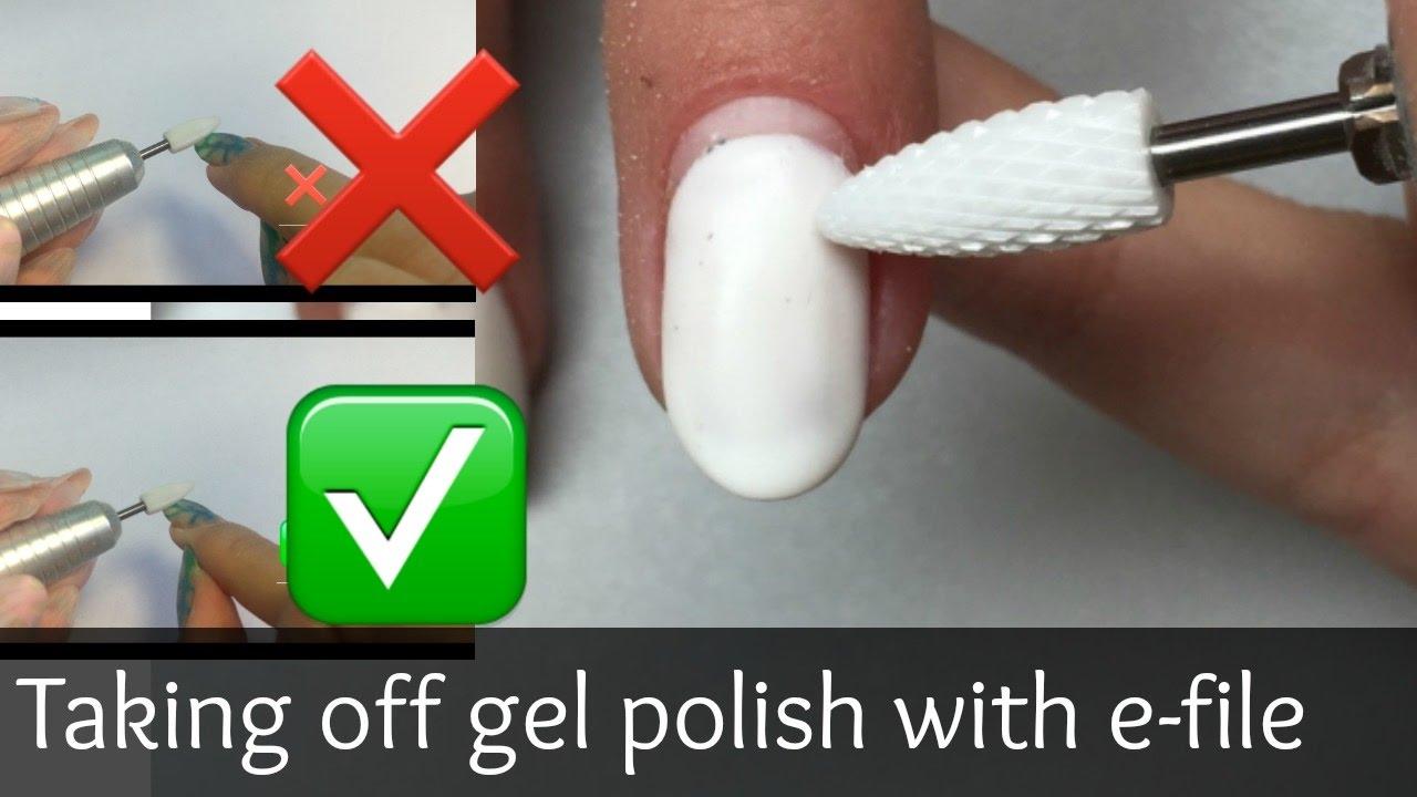 how to take off gel polish