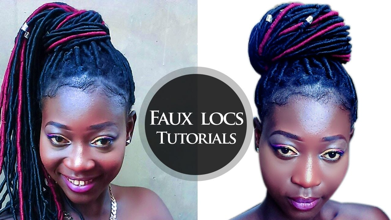 Easiest Way To Do Faux Locs With Brazilian Wool Yarn