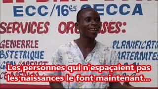 Parole aux Centres de Santé partenaires du projet DCA-PF de Kinshasa.